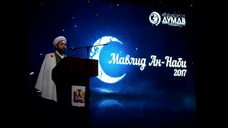 3 Речь Ахмад хазрата на маулиде в Хабаровске