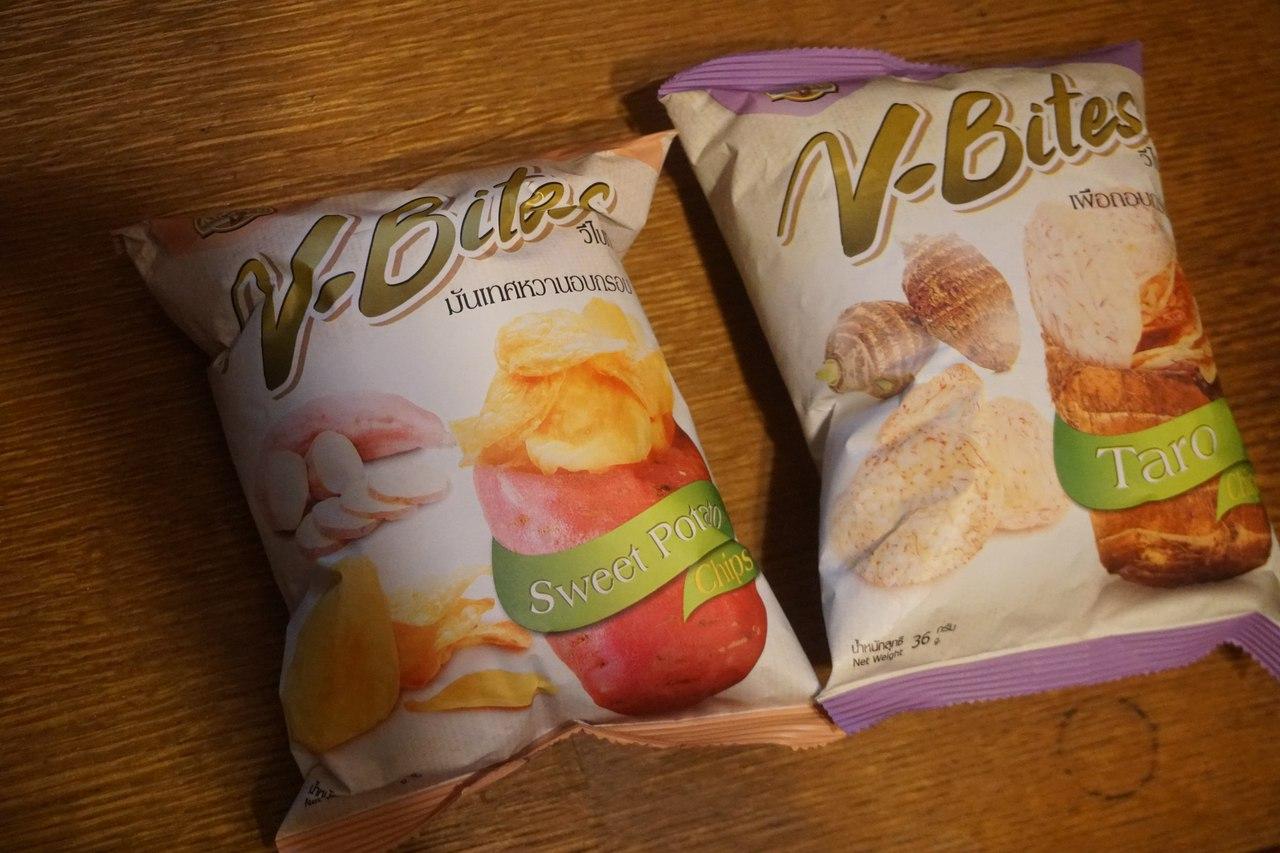 Тайские чипсы - Ботат и Таро