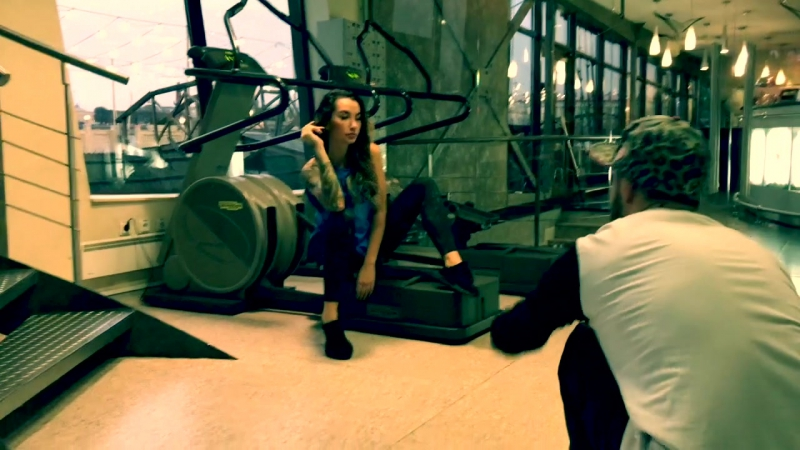 Angelica Anders featuring Argo Classic fitness backstage
