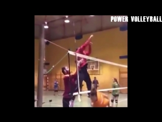 Volleyball 6 - Person Block ! Funny Volleyball Videos (HD)