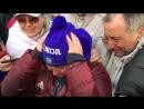 Слезы счастья Елены Вяльбе 👏👏👏 Браво, сборная России! Ты - лучшая