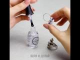 Необычные способы использовать лак для ногтей.
