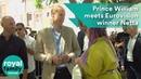 Prince William meets Eurovision winner Netta in Tel Aviv