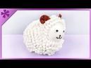 DIY Cotton bud Easter lamb (ENG Subtitles) - Speed up 330