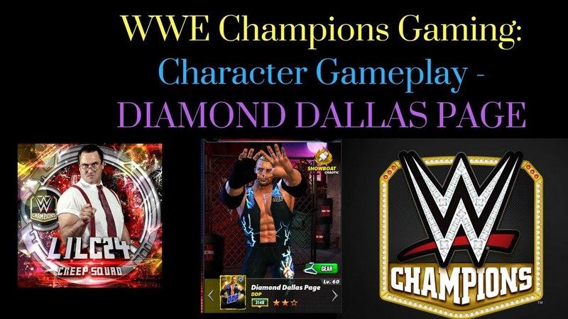 WWE Champions Character Gameplay - Diamond Dallas Page
