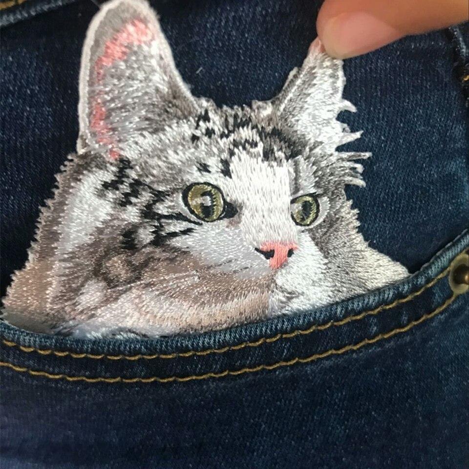 Патчи с котиками