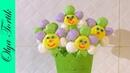 Цветы из БЕЗЕ Меренга простой рецепт Olya Tortik Домашний Кондитер