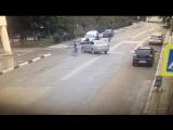 Водитель сбил велосипедистов Алушта