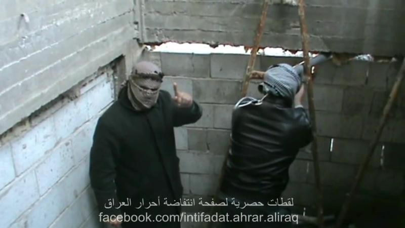 Сувар аль-ашаир (ГВСИР) обстреливают базу сектантской милиции Малики двумя ракетами c5k (январь 2014)