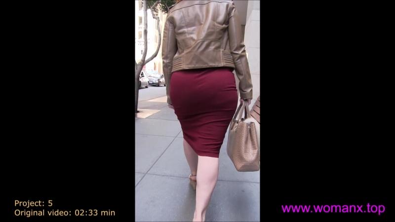 Girls in mini dress walking in street, mini dress hot, Девушка в мини юбке на улице города, porno, big ass, sexy big ass, skirt