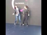 Лодовика и Тесс на мероприятии от Samsung, Барселона.