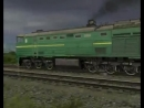 2ТЭ10М-3141 - russian railways_Trainz Simulator 2009