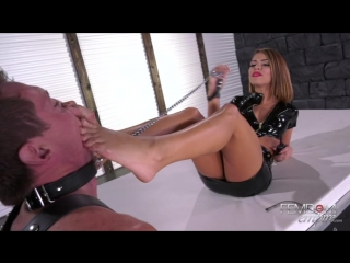 Femdomempire adriana chechik - extreme foot sensations