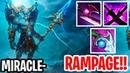 Longest Rampage In Dota 2 History Miracle Phantom Lancer Dota 2