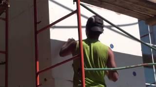 Фасадный дюбель для газобетона, забиваем Бийские дюбеля с удлинённой распорной зоной 100мм