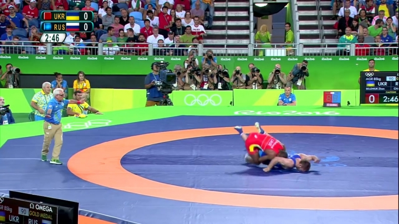 Rio - Mens Greco Roman 85kg final