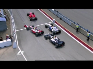 Hamilton Raikkonen Rosberg Crash in F1 2008 Canada GP