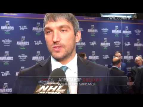 Александр Овечкин на церемонии NHL Awards 2018: Седых волос прибавилось