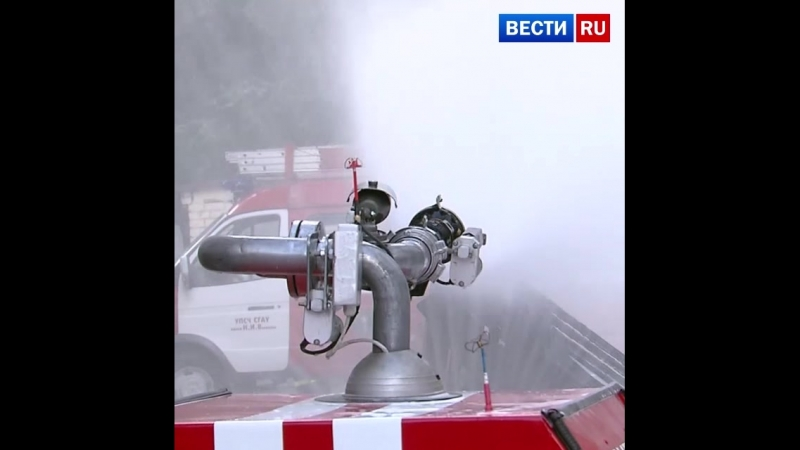 В Саратове ученые создали радиоуправляемого робота-пожарного
