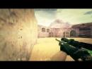 Прострелом -5 de_dust2 в cs 1.6
