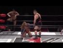 Kuma Arashi Shotaro Ashino c vs Jiro Kuroshio Masato Tanaka WRESTLE 1 2018 Tour Outbreak Day 4