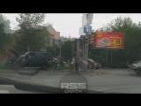 Омск.26.06.2018 дтп Жукова---Лермонтова