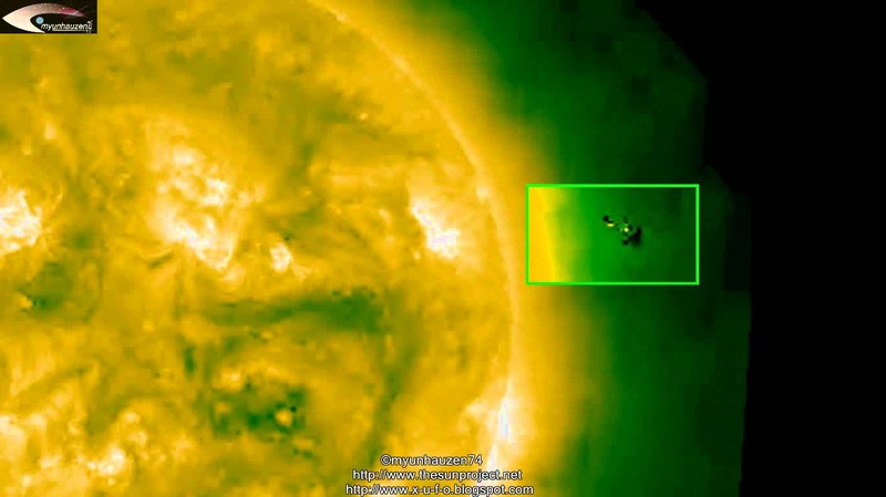 UFO near the Sun - Review of NASA STEREO SOHO images for October 2, 2012.