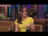 Vanessa Hudgens au Tonight Show de Jay Leno le 20 mars 2013