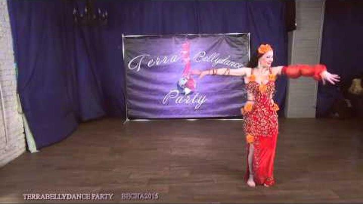 Terrabellydance party Весна 2015 Ольга Ломачевская