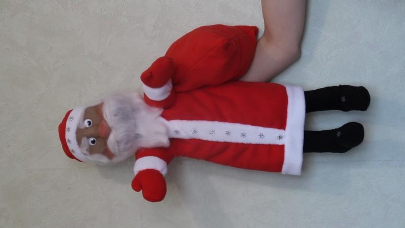 Кукла Дед мороз для кукольного театра