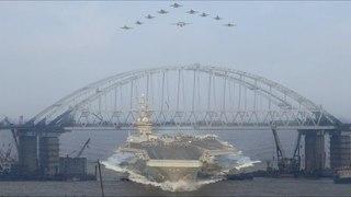 Авианосец не пройдет: чем строительство Крымского моста разгневало США