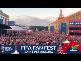 FIFA Fan Fest: русский дождик на игре CRO-ENG