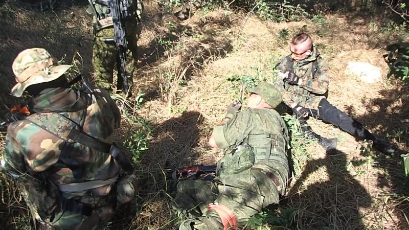 Ранение спецназа.