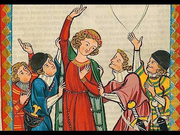 Winder wie ist nû dîn kraft - Neidhart - Mittelalter - Minnesang.
