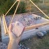 Первая в мире пирамида, дающая воду из воздуха.