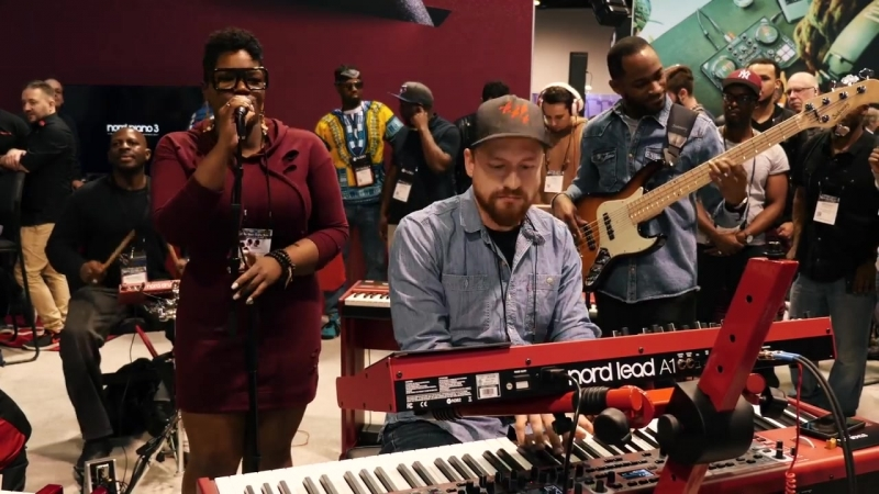 Nord live at NAMM 2018_ Kennedy Administration