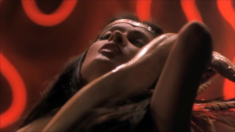 Salma Hayek dance in From Dusk Till Dawn