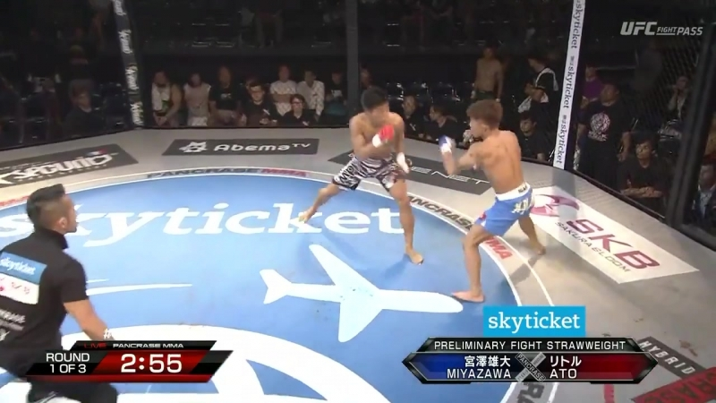 Yuta Miyazawa vs. Takafumi Ato (Pancrase 298 - Araujo vs. Fujino)