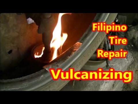Filipino Tire Repair (Vulcanizing)