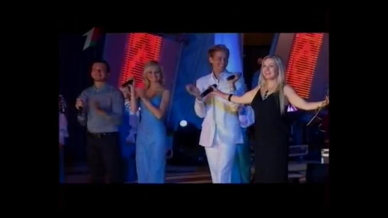 Закрытие фестиваля Маладзечна-2011 (Первый национальный, 2011) Ольга Плотникова и Театр песни Хвілінка