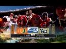 NCAAF 2017 / Week 13 / (2) Miami Hurricanes - Pittsburgh Panthers / 1Н / 24.11.2017 / EN