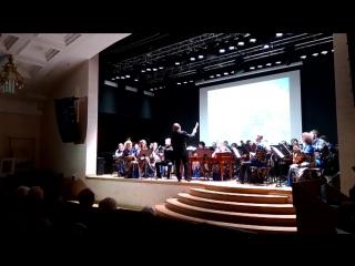Дебют Семёна с Калининградским оркестром народных инструментов 26.11.2017г. (Метелица)