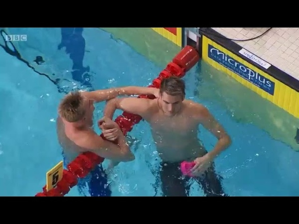 Men 50m Backstroke Kliment Kolesnikov 24.00 World Record Glasgow 2018