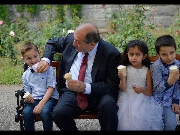 Ինչպես երեխաները «գրավեցին» նախագահի նստա14