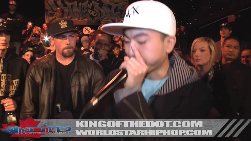 KOTD Beatbox Battle KRNFX vs Kaleb Simmonds Canadian Idol