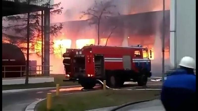 Пожар на СПЦ1 БМЗ Жлобин