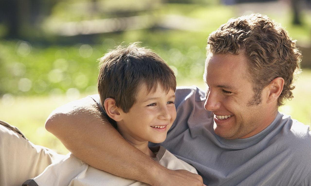 Картинки папа и сын разговаривают, днем рождения