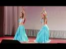 Дуэт школы восточного танца Арабика Бикмаева Сафия и Ефремова Дарья Табла