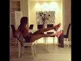 Домашняя эффективная тренировка со стулом.