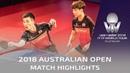 JeoungYoungsik/LeeSangsu vs MozizonoMasataka/OshimaYuya | 2018 Australian Open Highlights (Final)